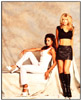 Traci Bingham and Donna D'errico